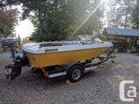 1981 Marlin 16.5ft $5000 obo. Mercruiser 140