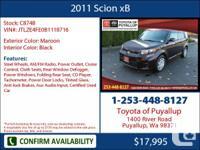 2011 Scion xB  4 Dr Hatchback Mileage: 19550 This