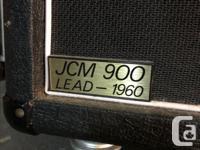 (Reduced price) Marshall 4x12 slant cab JCM 900 - Lead