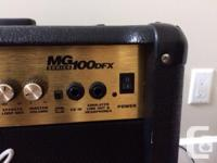 In excellent condition rarely used. This amp I brought