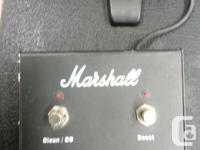 Marshall MA100C 100 Watt Valve Amplifier w/ footswitch