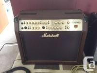 Gently used Marshall AS100D amp for sale. Excellent
