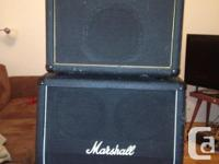 150 watt Marshall combo with 4 channels, 16 effects