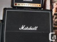 MARSHALL DSL 15 AMP HEAD, 2 CHANNELA SWITCH FROM 15