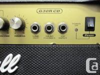 This is a used Marshall 30 watt guitar combo. It has 2