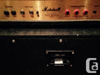 Selling an all tube Marshall JCM 2000 DSL 50 Head with