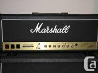 First Marshall amp to bear the signature of an artist,