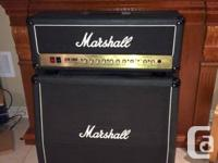 Marshall JCM2000 DSL100 head in excellent condition and