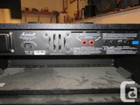 Awesome inexpensive Marshall amp package. lots of power