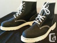 "Marketing RARE Dr. Martens boots.  ""TecTuff"" leather."