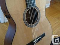 Martin cutaway classical guitar. Brand new, no marks or