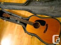Selling a nice old Martin from late 1970s, this is the