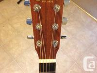 DCX1E Martin name Sitka solid spruce top Tons of low