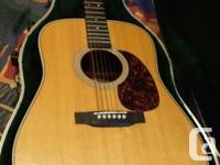 This is the classic Martin HD 28, 5 years aged and in