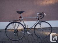 maruishi excellence ste road race bike, suntour cyclone