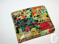 Marvel Comics Wallet Nifty Style New, never used