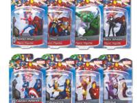 "Marvel Superhero Set Of 8 ""NEW""  ($60.00 set or $10.00"
