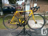 Up for sale is my Masi Speciale Fixed. The bike is in