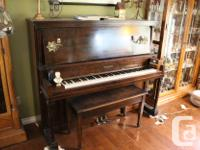 I inherited this piano from my Aunts. The family