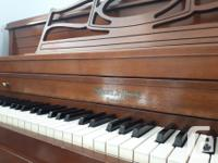 I've had this Mason Risch upright piano and bench for 2