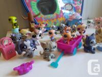 LPS collectors here is a set of 22 pet shops and some