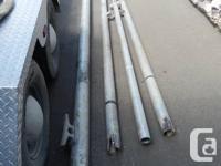 Aluminium mast & boom material all Schedule 80 tubing