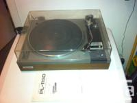 Leader PL-115D turntable with Audio Technica cartridge,