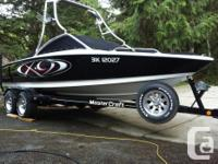 Ski. Wakeboard. Surf. Do it all with this 21ft direct