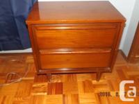 Solid Wood Bedroom Suite. Excellent condition . Bed ,