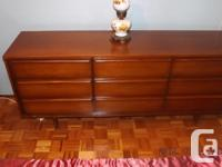 Solid Wood 4 Pc. Bedroom Suite. Owner retiring and I am