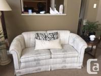 MINT,,,white Roxton Sofa and love seat........not a