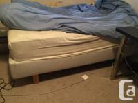 Clean 3 year old mattress (made by Contour Collection,