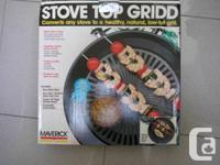 Maverick Stove Top Grill Used but in great shape,