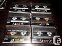 Premium High Fidelity CrO2 TypeII Audio Cassettes HR -