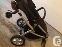 Black maxi cosi foray xl stroller. In great condition.