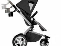 Selling Maxi-Cosi Foray LX black stroller with weather