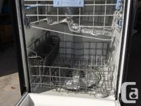A Maytag QuietSeries 300 builtin dishwasher. Stainless