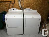 I am selling our Maytag Neptune washer and dryer for