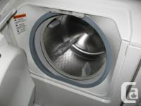 Matching cream coloured washer (model MAH4000AWQ) and