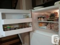 Maytag performance white refrigerator. Very good