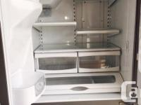 Maytag French Door Stainless Steel Fridge. Excellent
