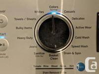 On multiple sites One year old 'he' top load washer &