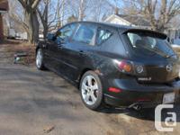 Make Mazda Model 3 Colour Black Trans Manual kms