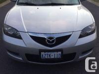 Make Mazda Model 3 Year 2007 Colour Silver kms 135000