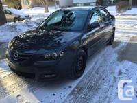 Make Mazda Year 2008 Colour black kms 167000 MAZDA 3 GT