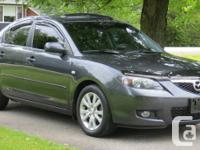 2008 Mazda 3, GS. Very Clean. Never ever winter months