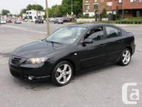 2005 MAZDA 3 GT SPORT, 4cyl., AUTOMATIQUE, Air