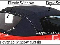 We handle the Robbins Convertible Top replacements for