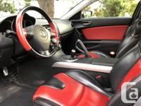 Make Mazda Model RX-8 Year 2005 Colour Velocity Red