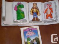McDonalds Walt Disney masterpiece collection:.  Pete's